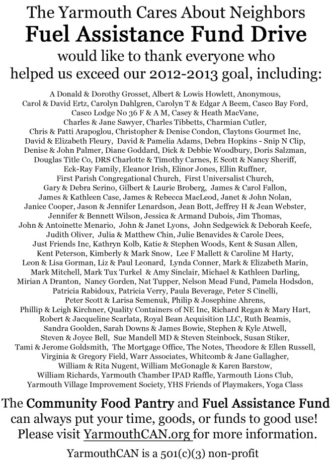 YCAN Notes Ad - Thank You-2013
