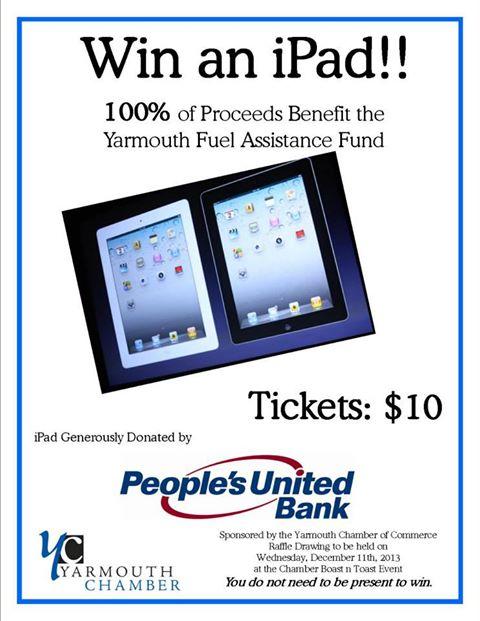 Yarmouth Chamber iPad Raffle