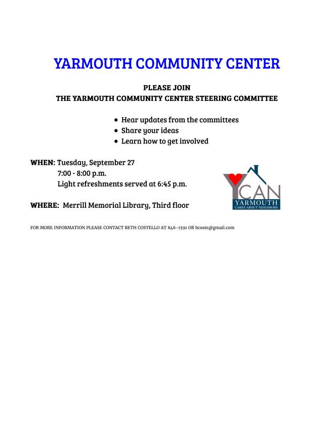 Yarmouth Community Center 9_27 event.jpg