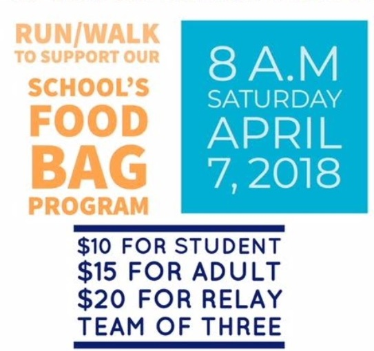 April 7, 2018 Fun Run: for a cause!