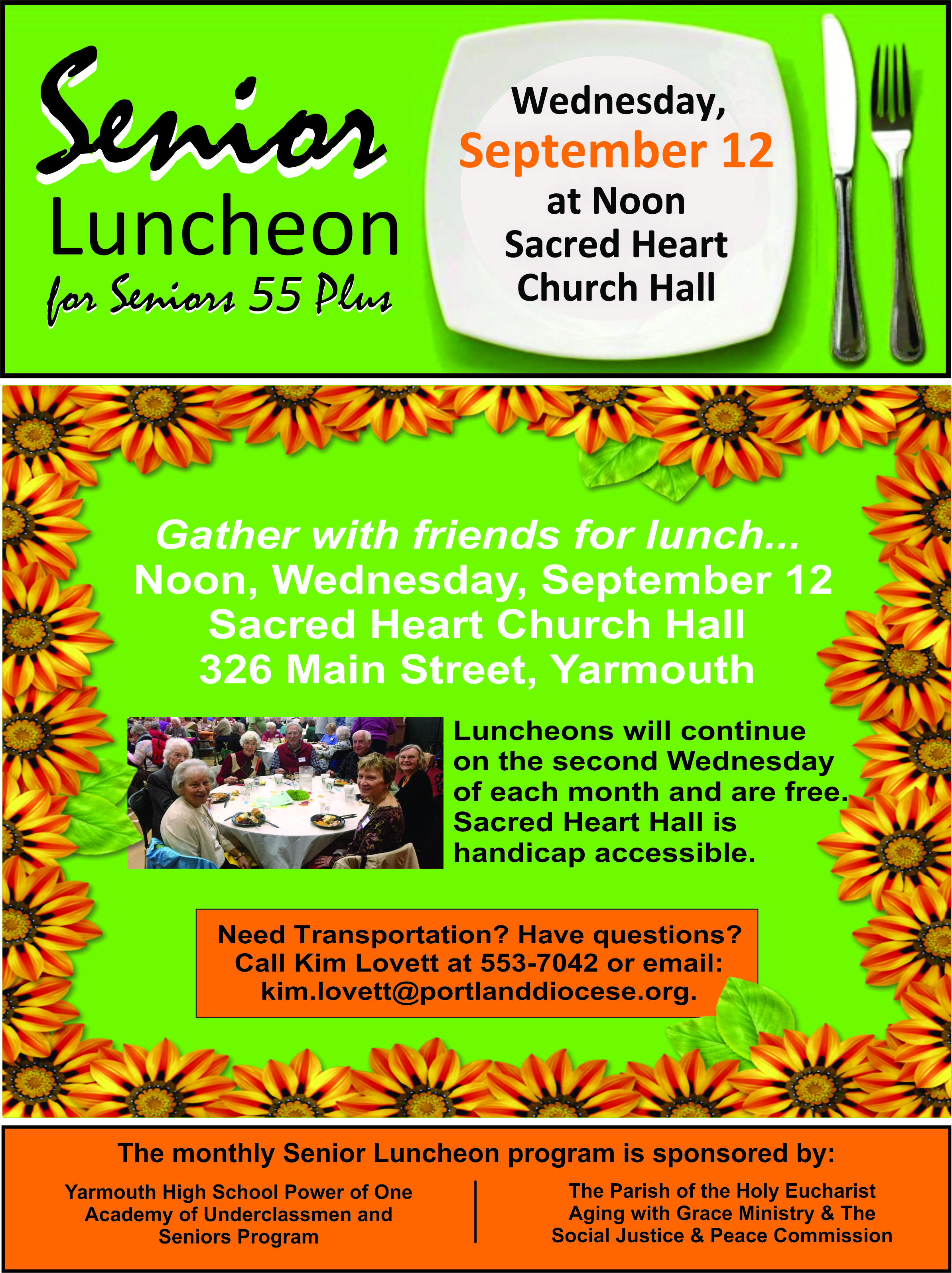 Senior Luncheon August 2018